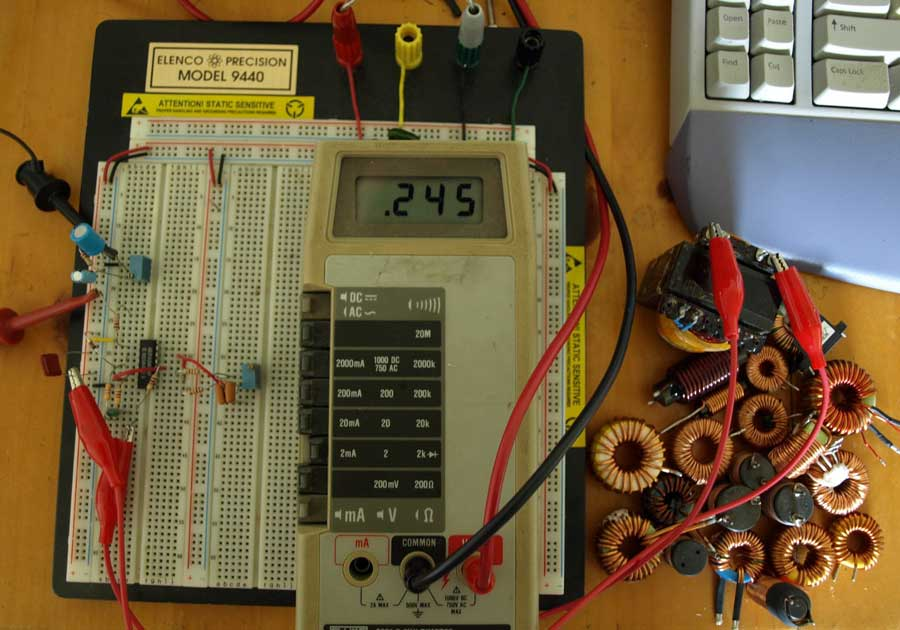 Inductor Coil Meter : Coil about inductor design