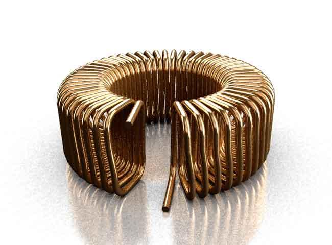 Coil32 - Toroid air core coil